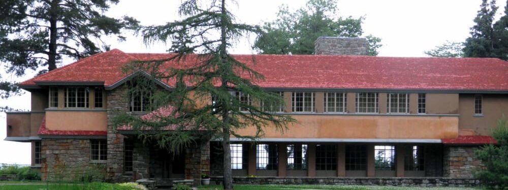 More Frank Lloyd Wright in the Finger Lakes, (well almost), Black Sheep Inn and Spa
